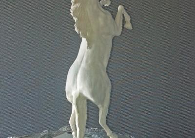 Escultura Caballo a 2 Patas 3-Jesusmasantra