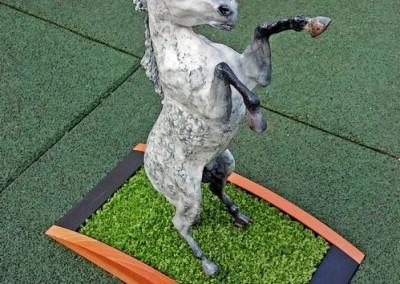Escultura Caballo a 2 Patas 5-Jesusmasantra