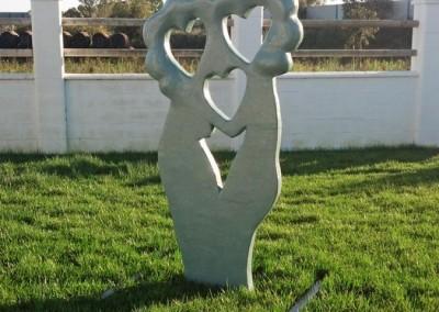 Escultura Móvil Amantes en Flor-Jesusmasantra