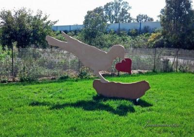 Escultura Móvil Pájaro2-Jesusmasantra
