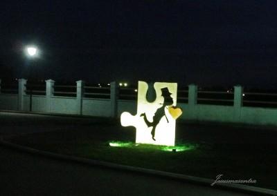 Esculturas Móviles Novios Puzle-Jesusmasantra