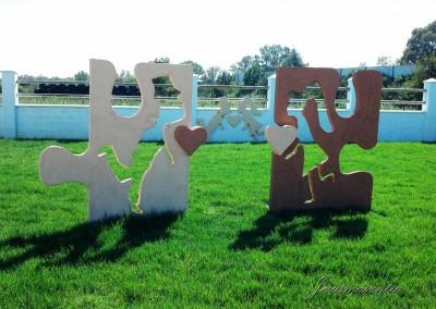 Esculturas Móviles Novios Puzle2-Jesusmasantra
