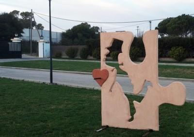 Esculturas Móviles Novios Puzle3-Jesusmasantra