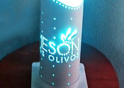 lámpara meson los olivos
